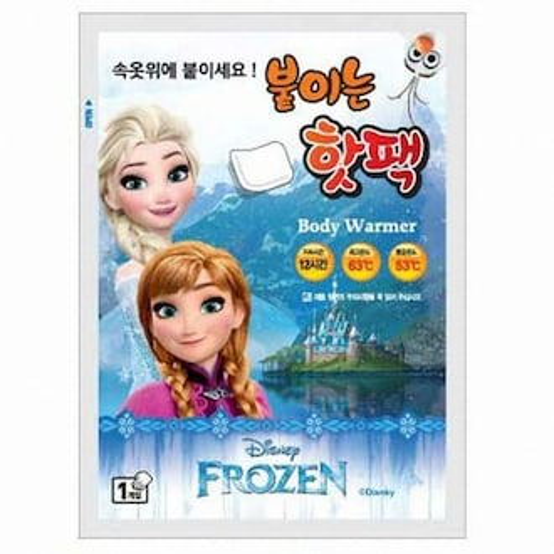 지엘 디즈니 겨울왕국 붙이는 핫팩 (30개)_이미지