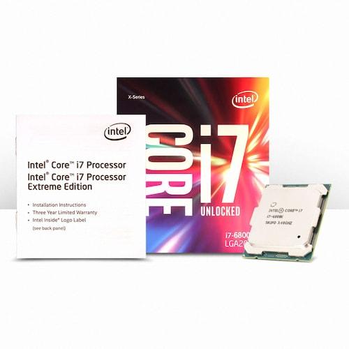 인텔 코어X-시리즈 i7-6800K (브로드웰-E) (정품)_이미지