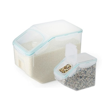 락앤락  쌀통 10kg + 잡곡통 2.5kg
