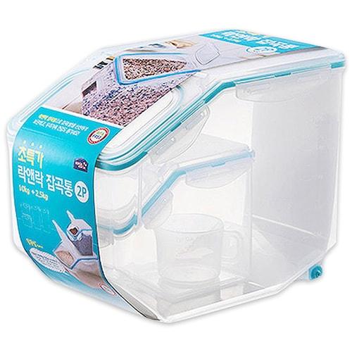 락앤락  쌀통 10kg + 잡곡통 2.5kg_이미지