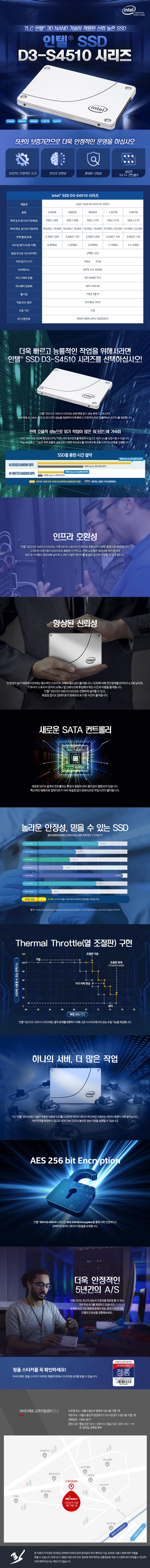 인텔  D3-S4510(480GB)