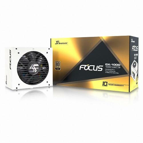 시소닉 FOCUS GOLD GX-1000 WHITE Full Modular