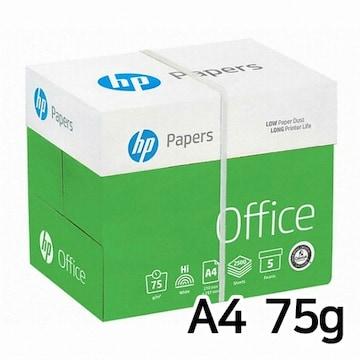 HP 복사용지 A4 75g 500매 (5개, 2500매)