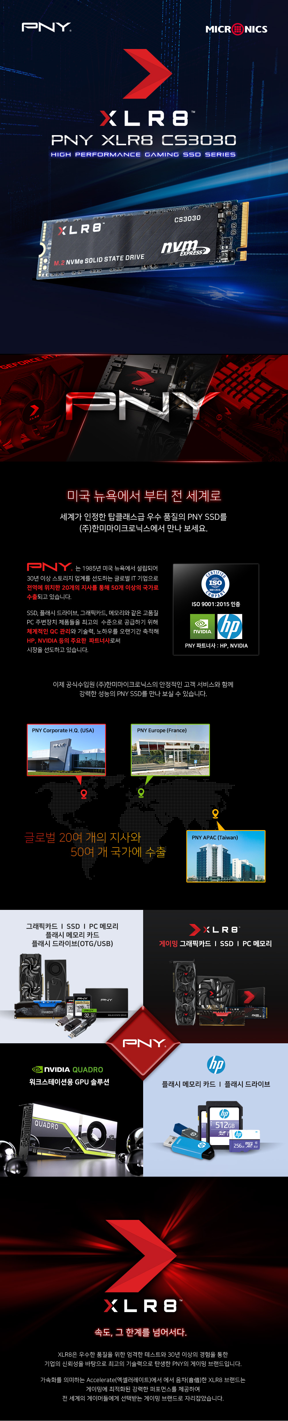 PNY XLR8 CS3030 M.2 NVMe (250GB)