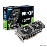 이엠텍 지포스 GTX 1650 SUPER MIRACLE D6 4GB