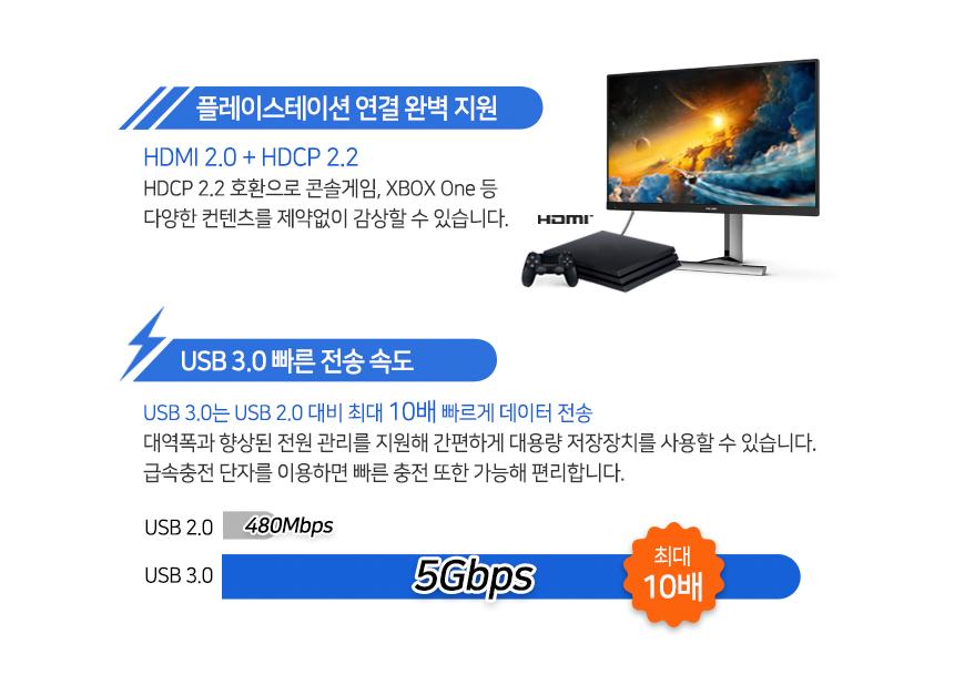 필립스 275M1 나노 IPS QHD 170 프리싱크 HDR 게이밍 무결점