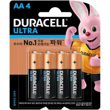 듀라셀 울트라 AA(4개)