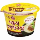 오뚜기 맛있는 오뚜기 컵밥 서울식 설렁탕국밥 281g  (1개)