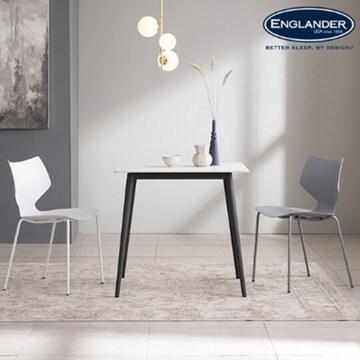 잉글랜더 러스크 통세라믹 식탁 (의자2개)_이미지