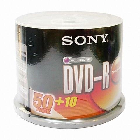 SONY DVD-R 4.7GB 16x 케익 (60장)_이미지