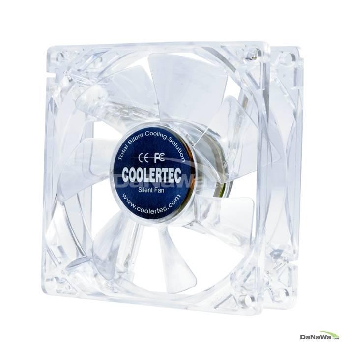 COOLERTEC IR8025 레드 LED
