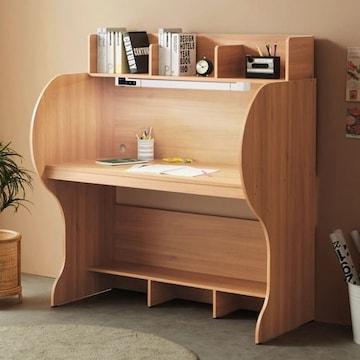 e스마트  엘리트 와이드 독서실책상+LED스탠드 (123x70cm)