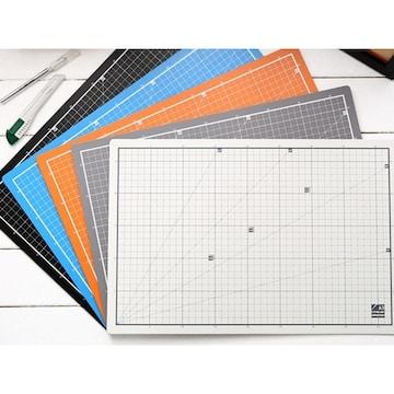 윈스타  PVC 칼라 데스크 커팅 매트 A3