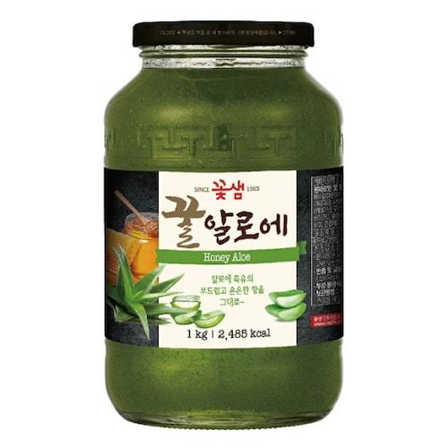 꽃샘식품 꿀알로에 1kg (8개)_이미지