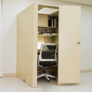 아이디어스터디 스터디룸 왼쪽문형 독서실책상(116x60cm)