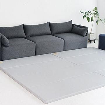제이월드산업 알집매트 에코 실리온 어반그레이 SG 240 (2장, 240x140x4cm)