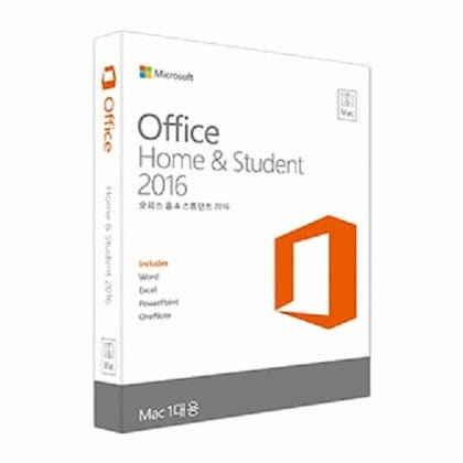 ESD 다운로드용 Office 2016 Home & Student for Mac