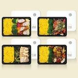 디자인앤본두 넉넉소반 프리미엄 냉동도시락 강황밥 세트 (4종류 4팩) (1개)