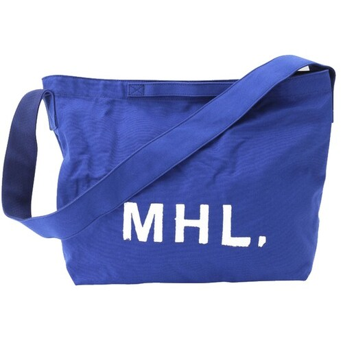 마가렛호웰 MHL 로고의 투웨이 숄더백 MHM67A0004BL_이미지