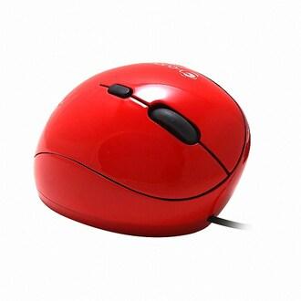 지클릭커 G-Clicker GM-MC710L 인체공학 버티컬 유선마우스 (레드)_이미지