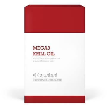 자연지애 메가3 크릴오일 30캡슐(1개)
