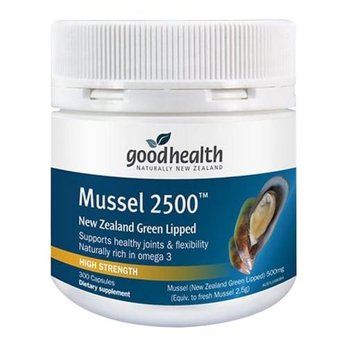 굿헬스  초록입홍합 Mussel 2500 300캡슐 (2개)_이미지