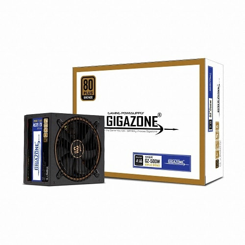 GIGAZONE  GZ-500W 80PLUS BRONZE