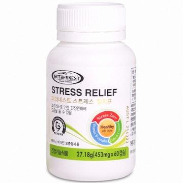 RBK 마더네스트 스트레스 릴리프 60캡슐(1개)