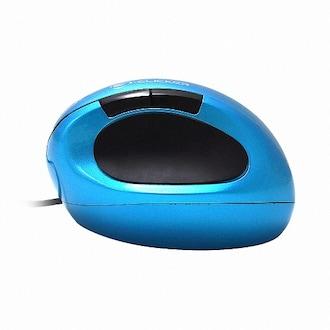 지클릭커 G-Clicker GM-MC710L 인체공학 버티컬 유선마우스 (블루)_이미지