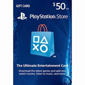 SIE PSN 플레이스테이션 스토어 카드 북미(50달러)