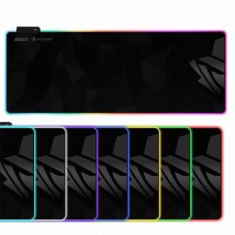 앱코 HACKER 엣지 RGB LED 게이밍 장패드_이미지
