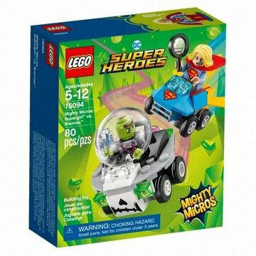 레고 DC 슈퍼히어로 슈퍼걸 대 브레이니악 (76094) (정품)