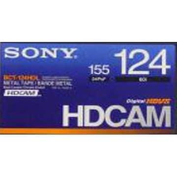 SONY BCT-124HD HDcam 124분 DV테이프 (10개)_이미지