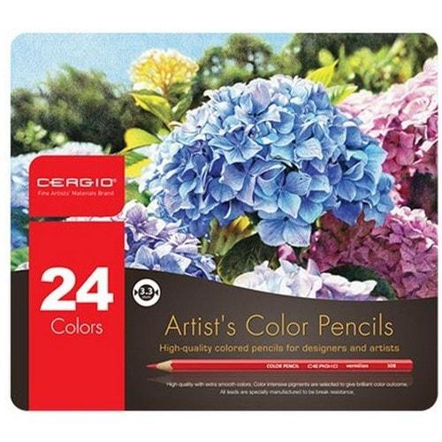 세르지오 유성 색연필 (24색)