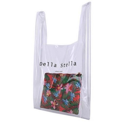 스텔라컴퍼니 델라스텔라 PVC TROPICAL BAG DS08386_이미지