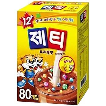 동서식품 제티 초코렛맛 80T (1개)