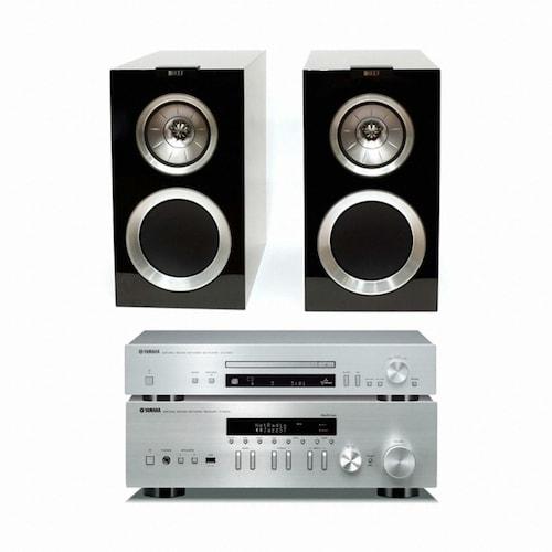 야마하 R-N402 + CD-N301 + KEF R300_이미지