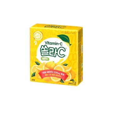 고려은단 쏠라C 레몬맛 20정 (20개)_이미지