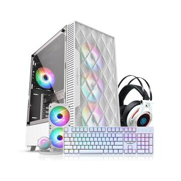 마이크로닉스 M60 + W240 aRGB + X40 + HS-510(올화이트 패키지)