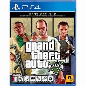 GTA 5 프리미엄 온라인 에디션 PS4 한글판_이미지