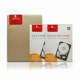 HGST  3TB Deskstar NAS HDN724030ALE640 패키지 (SATA3/7200/64M/2PACK)_이미지