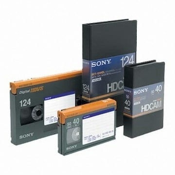 SONY BCT-124HDL HDcam 124분 DV테이프 (5개)_이미지