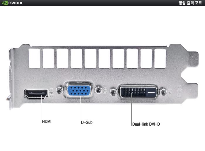 MTOP 지포스 GTX750 Ti V2 D5 2GB 프리미엄 포트 부