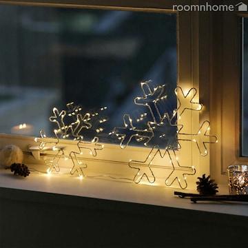 LED 눈꽃 펜던트 20cm