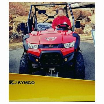 킴코 UXV450 제설장비 세트