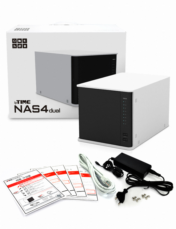 EFM ipTIME NAS4dual (56TB)