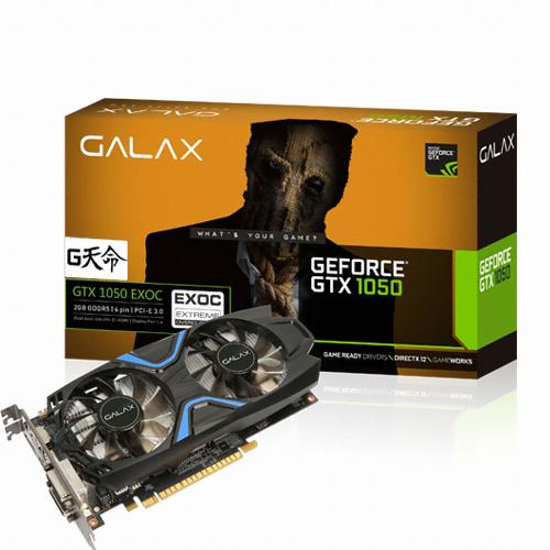 갤럭시 GALAX 지포스 GTX1050 EXOC D5 2GB G天命