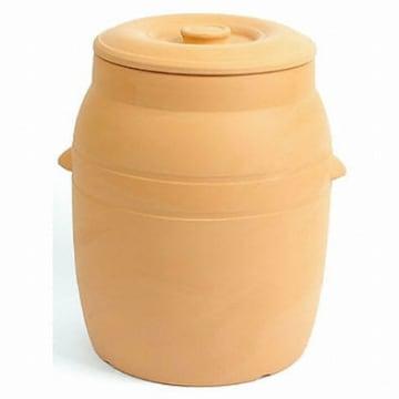 향남요업  숨쉬는 다기능 황토쌀독 15kg