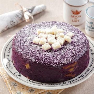 힐링펫 자색고구마 케이크