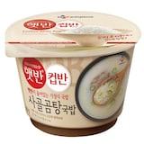 CJ제일제당 햇반 컵반 사골곰탕국밥 166g  (1개)